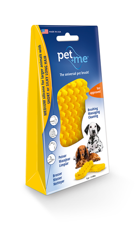 Pet+Me® Short Hair Dog Brush