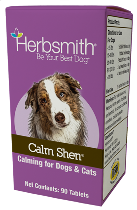 Calm Shen - A Long-Term Calming Supplement for Dogs and Cats