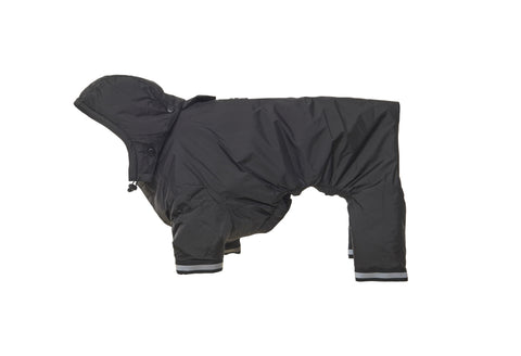 BUSTER Aqua Raincoat - Black
