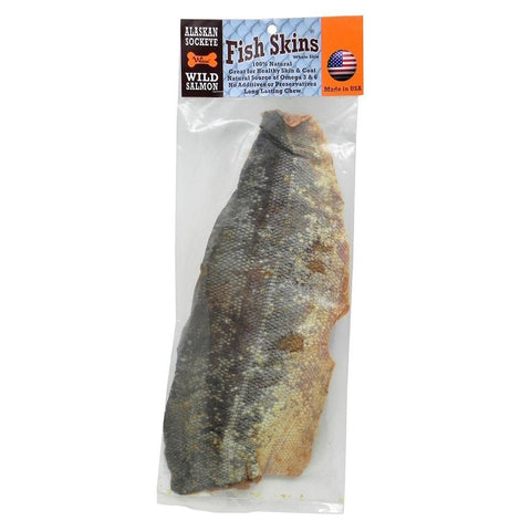 Alaskan Sockeye Salmon Whole Skin - 14""