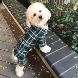 Pajamas - Green Plaid Flannel