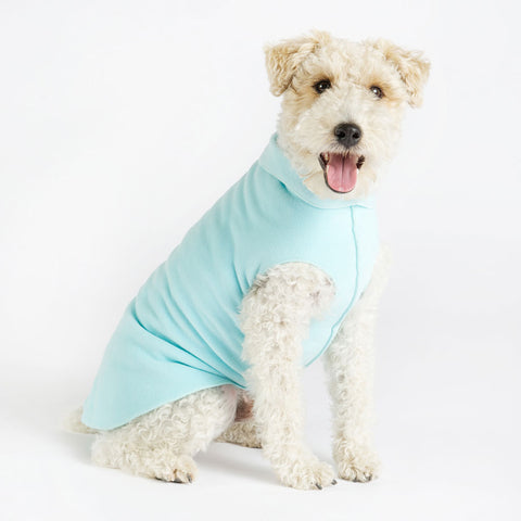 Fleece Lightweight Stretchy Jacket - Robin Egg Blue