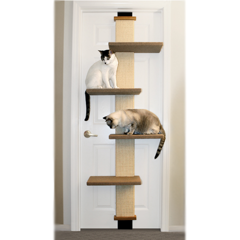 Cat Climber Door Scratching Post