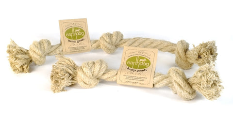Earthdog Hemp Rope Toys