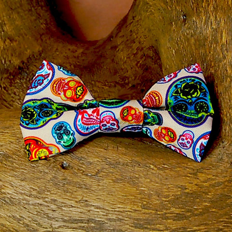 Doggie Bow Tie - Day of the Dead