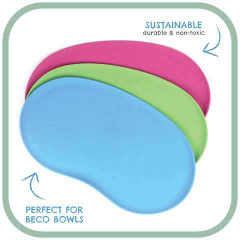 pink, green and blue Beco Place Mat