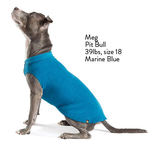 Fleece Lightweight Stretchy Jacket - Marine Blue