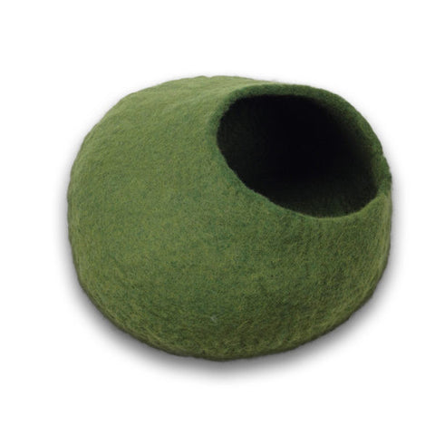 Cat Cave Cocoon - Green