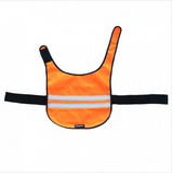 Reflective Dog Cooling Vest - Orange