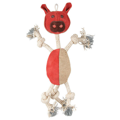 Pig Wiggly Chew Toy - 2 Sizes Available!