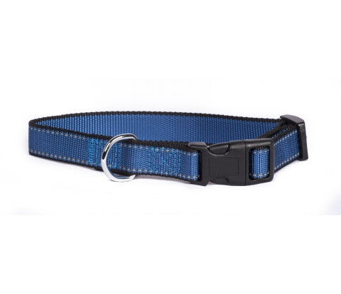 Blue Reflective Trim Collar