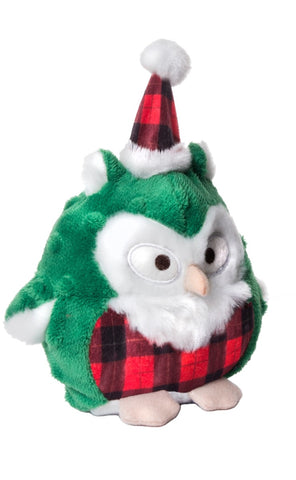 Howling Hoots Holiday Green