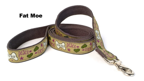 brown and colors leash