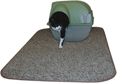 extralarge litter mat sandy brown
