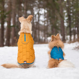 Loft Dog Jacket - Reversible - Ink Blue/Sea Glass