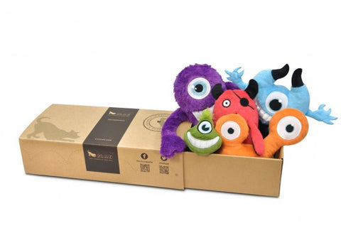 Momo's Monsters Plush Toys - 5 Piece Box Gift Set
