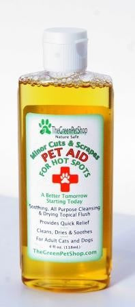 Pet Aid for Hot Spots