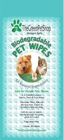 Bio Degradable Pet Wipes
