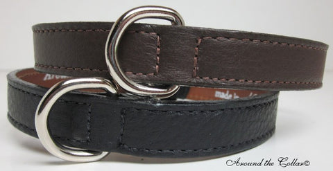 Classic Beauty Leather Collar
