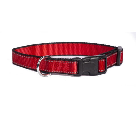 Red Reflective Trim Collar