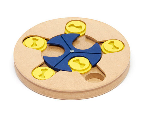 Spin 'n' Scoop Dog Puzzle Toy