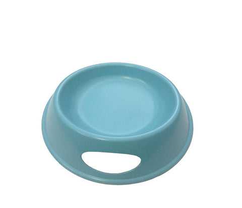 blue Bamboo Water Bowl for Cats