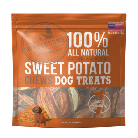 16 oz Sweet Potato Chews