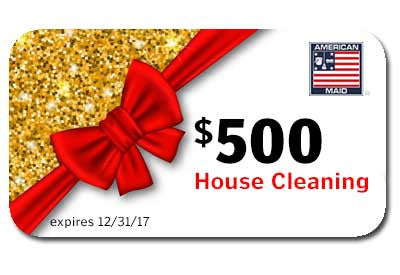 American Maid $500 Gift Card - Save 20%