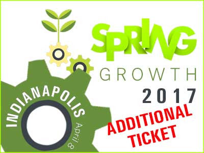 Spring Growth 2017 - Indy - Additional Ticket