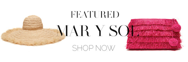 Featured: Mar y Sol Shop now.