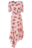 Bettina Dress in Pink Floral thumbnail