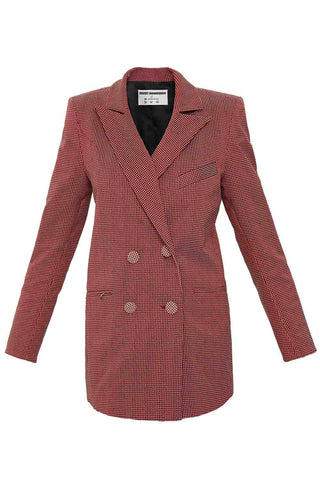 The Mannequin Suit Jacket in Pink