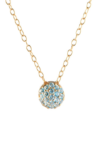 December Birthstone Dot Pendant