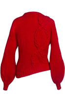 Cecilia Red Sweater thumbnail