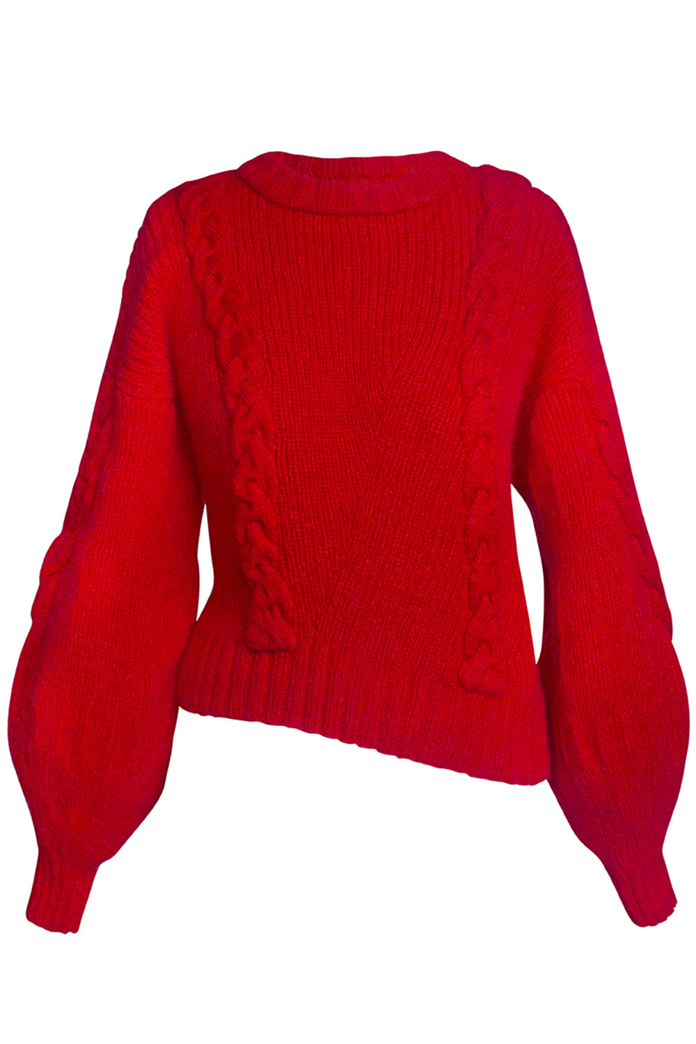 Cecilia Red Sweater