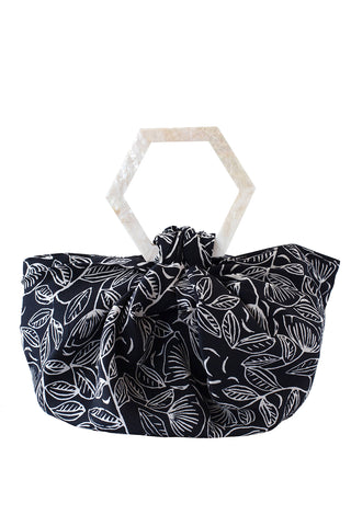 Suki Bag in Black Tulip