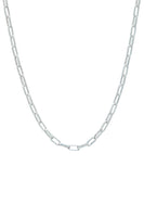 Sterling Silver Paperlink Chain Necklace thumbnail