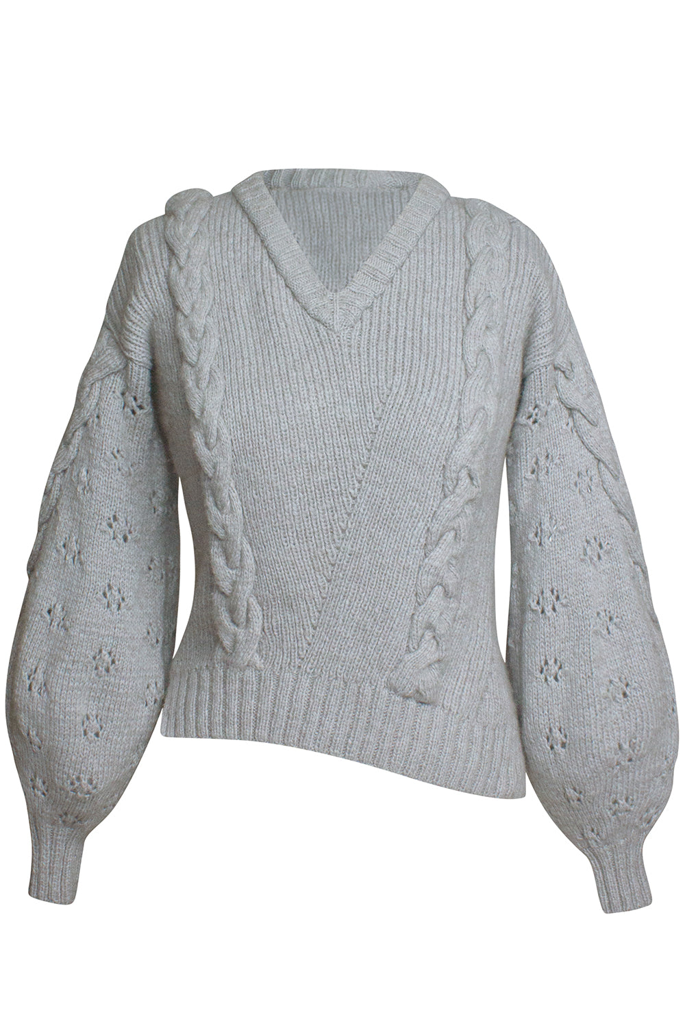 Gadea Gray Sweater