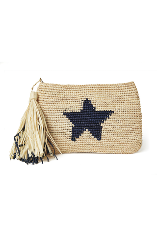 Estella Clutch in Navy
