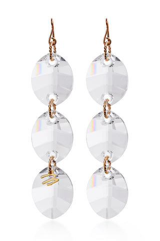 Clear Cha-Cha Earrings