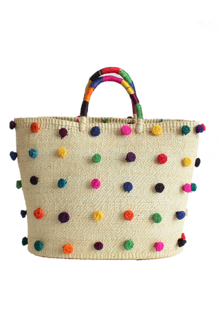 Pompoms Tote Bag