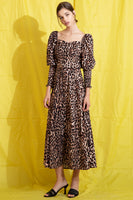 Wild Meadows Dress in Leopard thumbnail