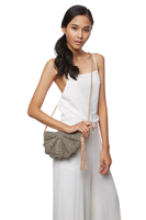 Zoe Shoulder Purse in Dove thumbnail