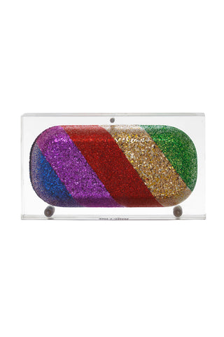 Rainbow Pill Clutch