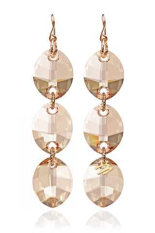 Gold Cha-Cha Earrings
