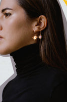 Amalia x Pili El Sol Earring in Bright Orange thumbnail