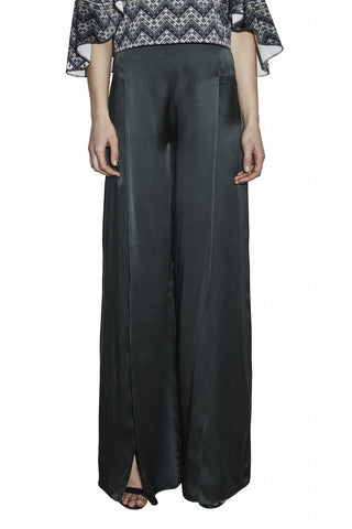 The Ines Pant in Emerald