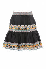 The Ida Skirt in Black thumbnail