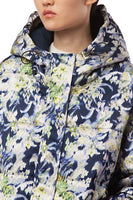 Emlyn Blurred Floral Parka in Acid thumbnail