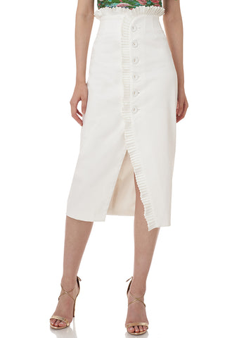 Paulina Skirt in White